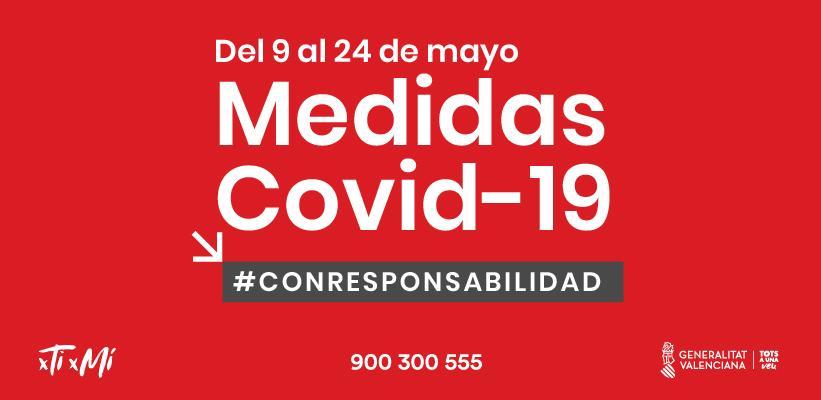 Nuevas medidas en materia de salud pública en la Comunidad Valenciana.